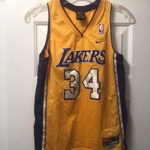 Nike Los Angeles Lakers Swingman Shaq Jersey Youth